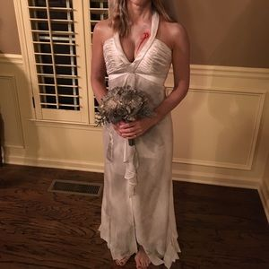 Halloween dead bride wedding dress costume